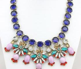 Inspired Necklace, Glorious Bib Necklace Statement